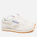 Мужские кроссовки Reebok Classic Leather Vintage Chalk/Paper White фото- 1
