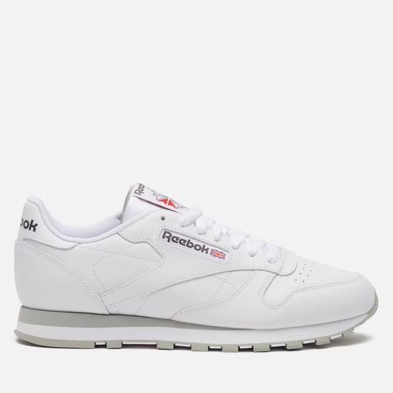 Кроссовки Reebok Classic Leather White/Light Grey