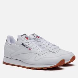 Кроссовки Reebok Classic Leather White/Gum