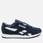 Кроссовки Reebok x Hundreds Classic Nylon Affiliates Navy/White/Riot Red фото- 0