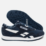 Кроссовки Reebok x Hundreds Classic Nylon Affiliates Navy/White/Riot Red фото- 2