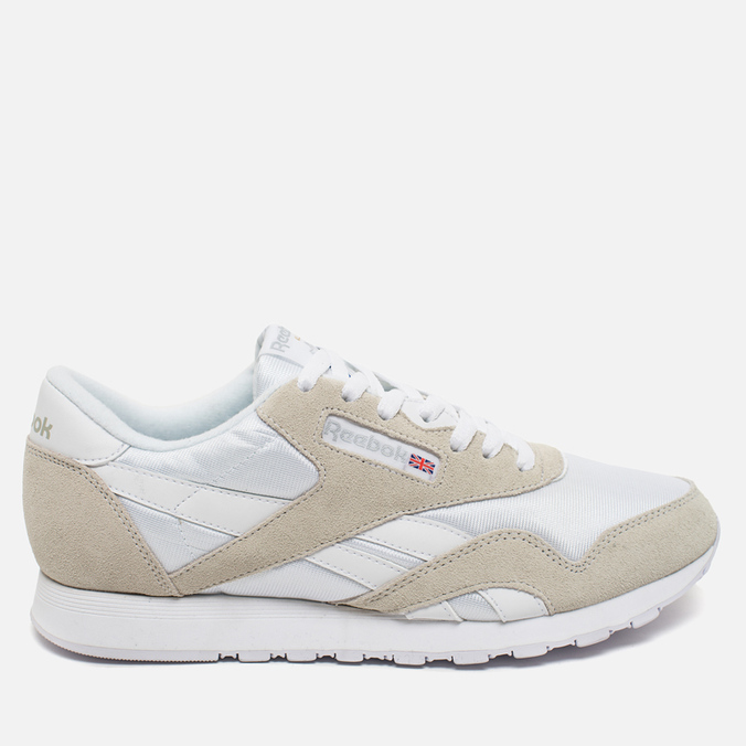 Мужские кроссовки Reebok Classic Nylon White/Light Grey