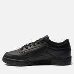 Мужские кроссовки Reebok Club C 85 Black/Charcoal фото- 2