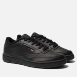 Мужские кроссовки Reebok Club C 85 Black/Charcoal фото- 1