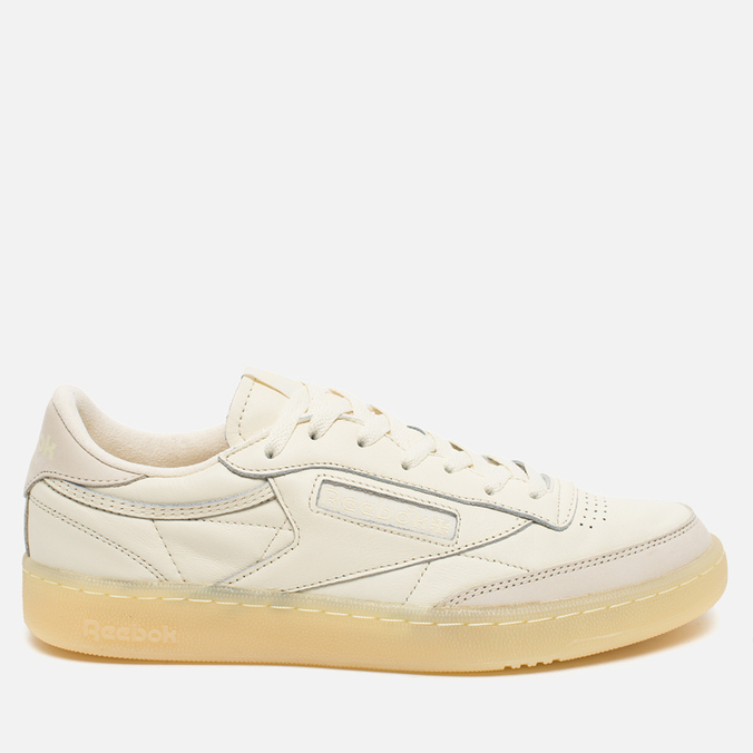Мужские кроссовки Reebok Club C 85 Butter Soft Pack Olympic Creme/Washed Yellow