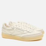 Reebok Club C 85 Butter Soft Pack Olympic Men's Sneakers Creme/Washed Yellow photo- 1