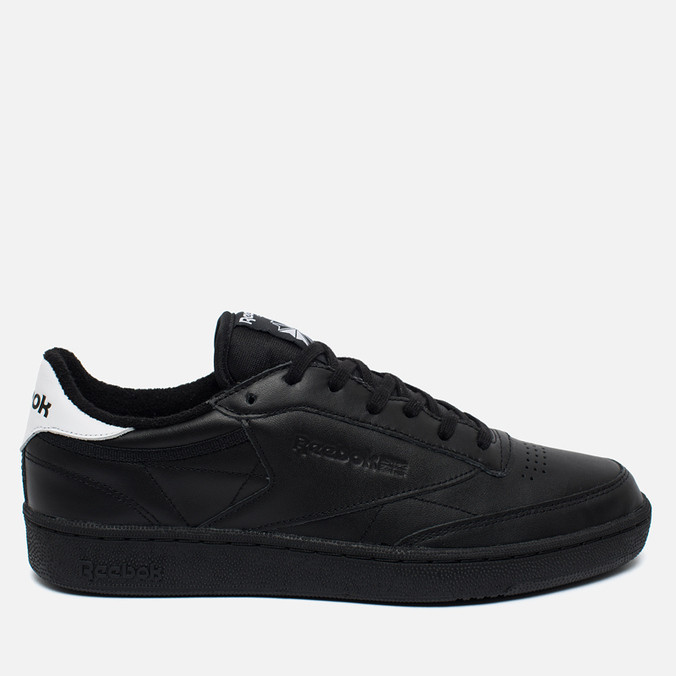 Мужские кроссовки Reebok Club C 85 EL Black/White
