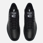 Мужские кроссовки Reebok Club C 85 EL Black/White фото- 4