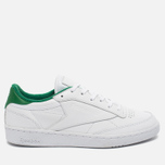 Кроссовки Reebok Club C 85 EL White/Glen Green фото- 0