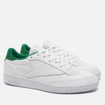 Кроссовки Reebok Club C 85 EL White/Glen Green фото- 1