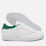Кроссовки Reebok Club C 85 EL White/Glen Green фото- 2