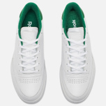 Кроссовки Reebok Club C 85 EL White/Glen Green фото- 4