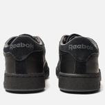 Мужские кроссовки Reebok Club C 85 MU Black/True Grey/Neon Lime фото- 4