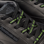 Мужские кроссовки Reebok Club C 85 MU Black/True Grey/Neon Lime фото- 6