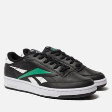 Мужские кроссовки Reebok Club C 85 MU Black/White/Emerald фото- 0