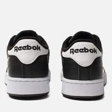Мужские кроссовки Reebok Club C 85 MU Black/White/Emerald фото- 2