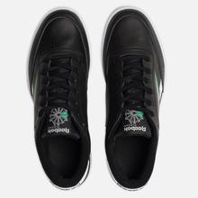 Мужские кроссовки Reebok Club C 85 MU Black/White/Emerald фото- 1