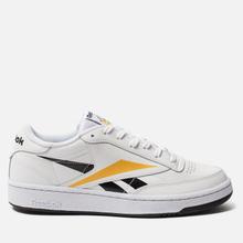 Мужские кроссовки Reebok Club C 85 MU White/Black/Toxic Yellow фото- 3
