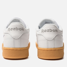 Мужские кроссовки Reebok Club C 85 MU White/Scarlet/Phantom Blue фото- 2