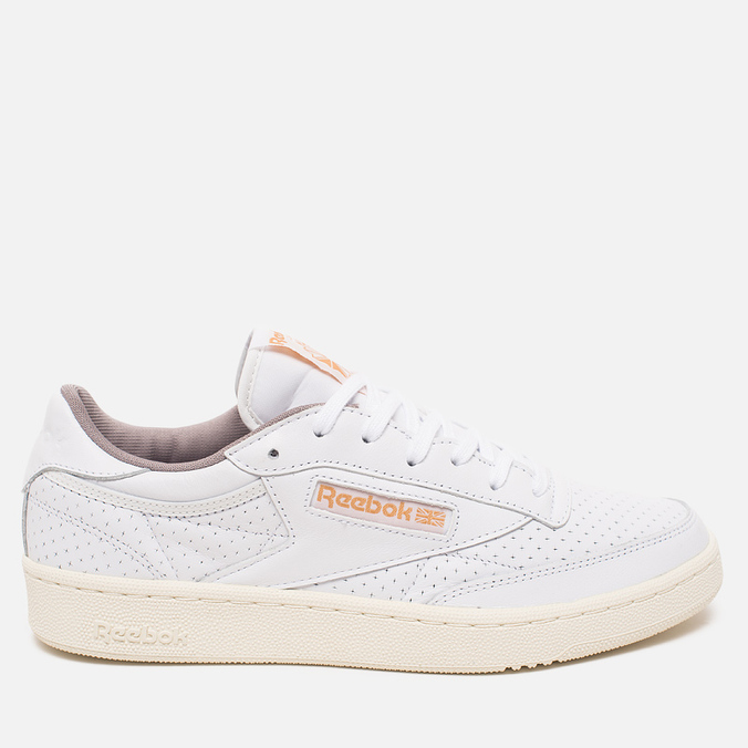 Кроссовки Reebok Club C 85 Perforated White/Beach Stone/Chalk