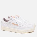 Кроссовки Reebok Club C 85 Perforated White/Beach Stone/Chalk фото- 1
