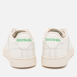 Мужские кроссовки Reebok Club C 85 Vintage Chalk/Paper White/Green фото- 3