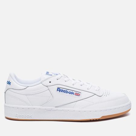 Мужские кроссовки Reebok Club C 85 White/Royal/Gum
