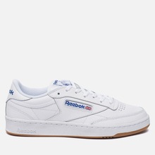 Кроссовки Reebok Club C 85 White/Royal/Gum фото- 3