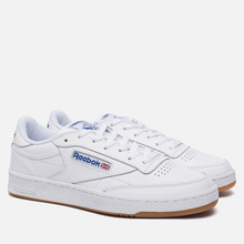Кроссовки Reebok Club C 85 White/Royal/Gum фото- 0