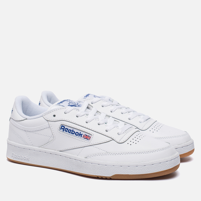 Кроссовки Reebok Club C 85 White/Royal/Gum