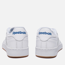 Кроссовки Reebok Club C 85 White/Royal/Gum фото- 2