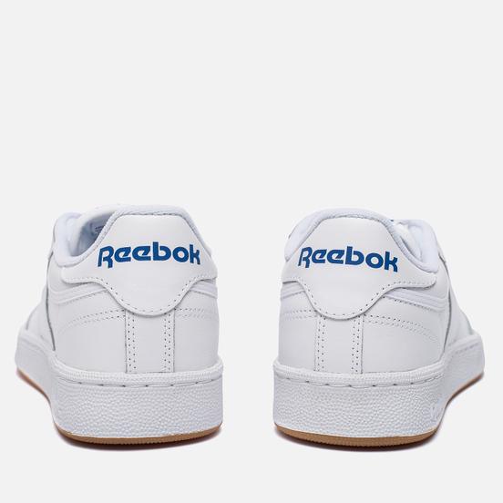 Кроссовки Reebok Club C 85 White/Royal/Gum