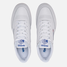 Кроссовки Reebok Club C 85 White/Royal/Gum фото- 1