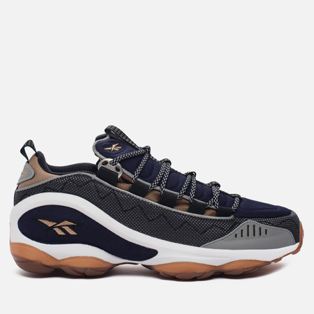 Мужские кроссовки Reebok DMX Run 10 OG Black/White/Weed Brown/Blue