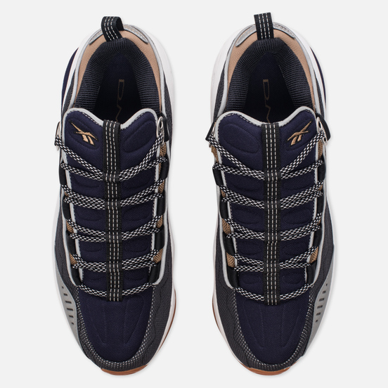 Мужские кроссовки Reebok DMX Run 10 OG Black/White/Weed Brown/Blue