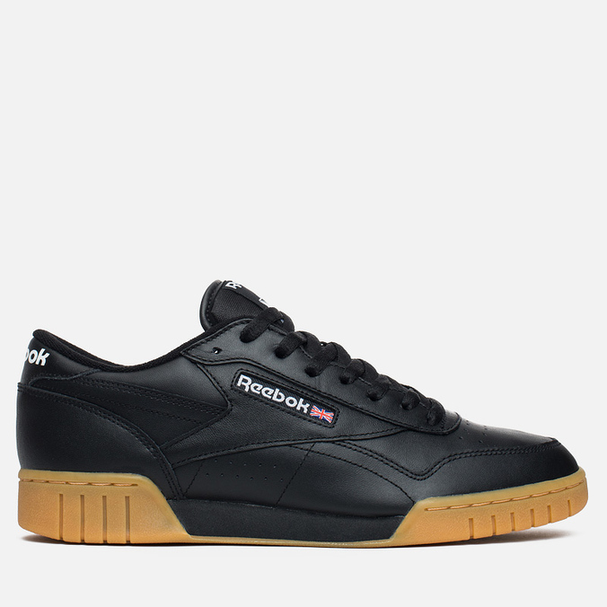 Мужские кроссовки Reebok Ex-O-Fit Plus Low Black/Gum