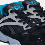 Мужские кроссовки Reebok Graphlite Pro GID Black/Gable Grey/Carribean Teal/White фото- 5