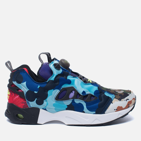 Кроссовки Reebok Instapump Fury Road CC What The Camo Black/Solar Yellow/White