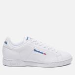 Мужские кроссовки Reebok NPC II White/White фото- 0