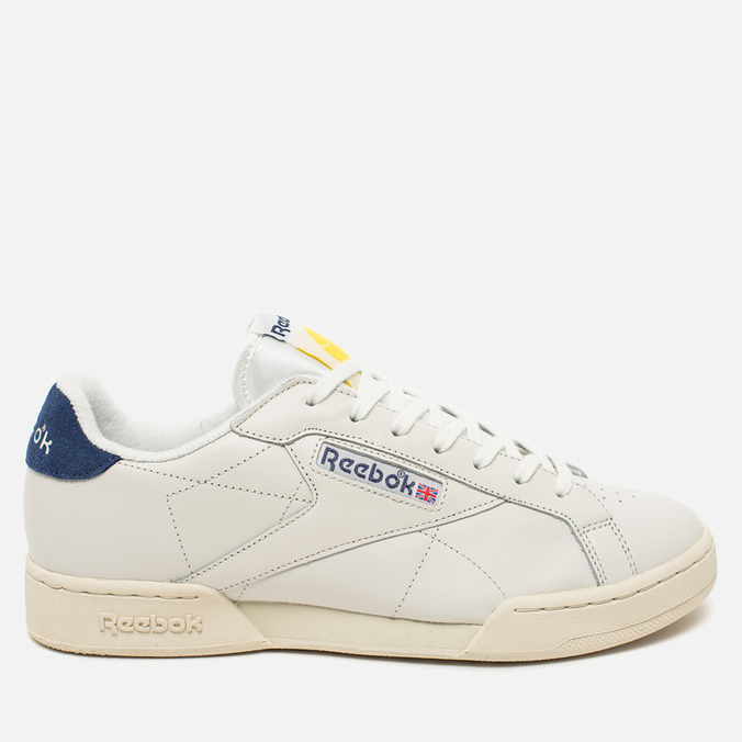 Мужские кроссовки Reebok NPC UK II TB Chalk/Paper White/Blue/Yellow
