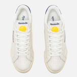 Мужские кроссовки Reebok NPC UK II TB Chalk/Paper White/Blue/Yellow фото- 4