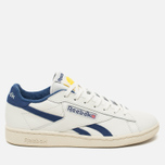 Мужские кроссовки Reebok NPC UK Tennis Ball Chalk/Paper White/Midnight Blue/Yellow фото- 0