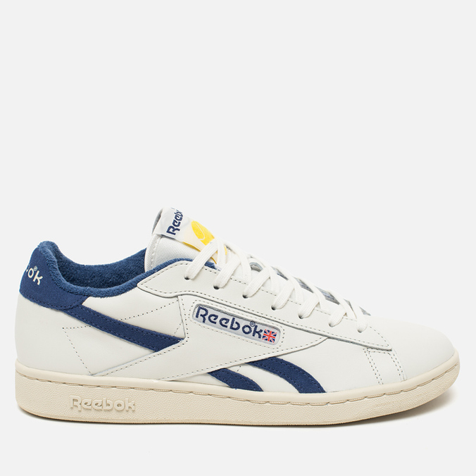 Reebok NPC UK Tennis Ball Men's Sneakers Chalk/Paper White/Midnight Blue/Yellow