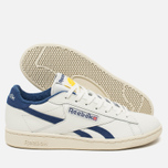 Reebok NPC UK Tennis Ball Men's Sneakers Chalk/Paper White/Midnight Blue/Yellow photo- 2