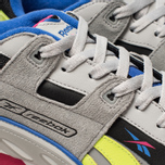 Мужские кроссовки Reebok Workout Plus ATI 90S Skull Grey/True Grey/Black/Pink Fusion/Neon Lime/Cobalt фото- 6