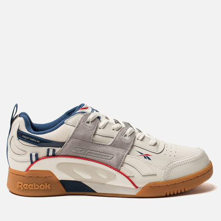 Мужские кроссовки Reebok Workout Plus ATI 90S Chalk/Skull Grey/Washed Blue/Primal Red