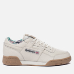 Мужские кроссовки Reebok Workout Plus Fitness Archive Motif Chalk/Canvas/Gum фото- 0