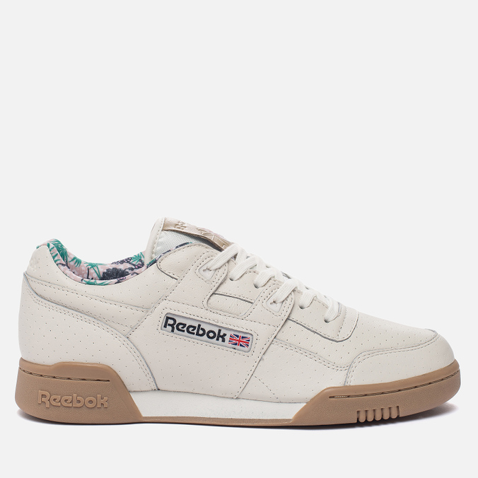 Мужские кроссовки Reebok Workout Plus Fitness Archive Motif Chalk/Canvas/Gum