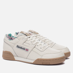 Мужские кроссовки Reebok Workout Plus Fitness Archive Motif Chalk/Canvas/Gum фото- 1