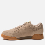 Мужские кроссовки Reebok Workout Plus MU Sand Beige/Neon Lime фото- 2
